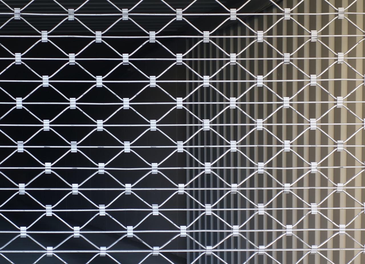 Un rideau métallique